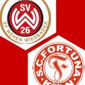 Effizienter SV Wehen Wiesbaden erkämpft sich gegen Fortuna Köln sich Aufstiegsplatz