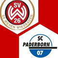 Spielschema | SV Wehen Wiesbaden - SC Paderborn 07 3:3 | KW 41 2019 | Fußball-Vereine Freundschaftsspiele 2019/20