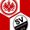 Spielschema | Eintracht Frankfurt - SV Sandhausen 2:1 | KW 46 2019 | Fußball-Vereine Freundschaftsspiele 2019/20