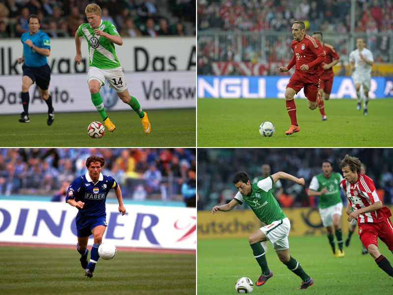 Die Vorlagenkonige Der Bundesliga Bundesliga 11