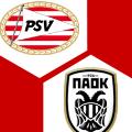 Spielschema | PSV Eindhoven - PAOK Saloniki 3:2 | Gruppenphase, 4. Spieltag | Europa League 2020/21