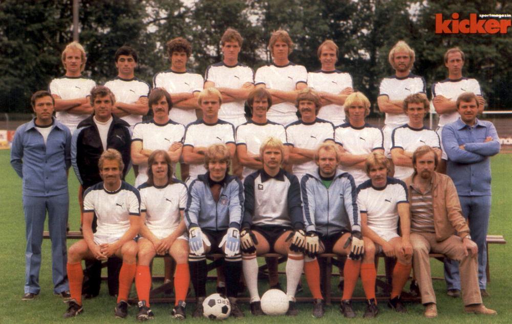 Holstein Kiel Kader 2 Bundesliga 1980 81 Kicker