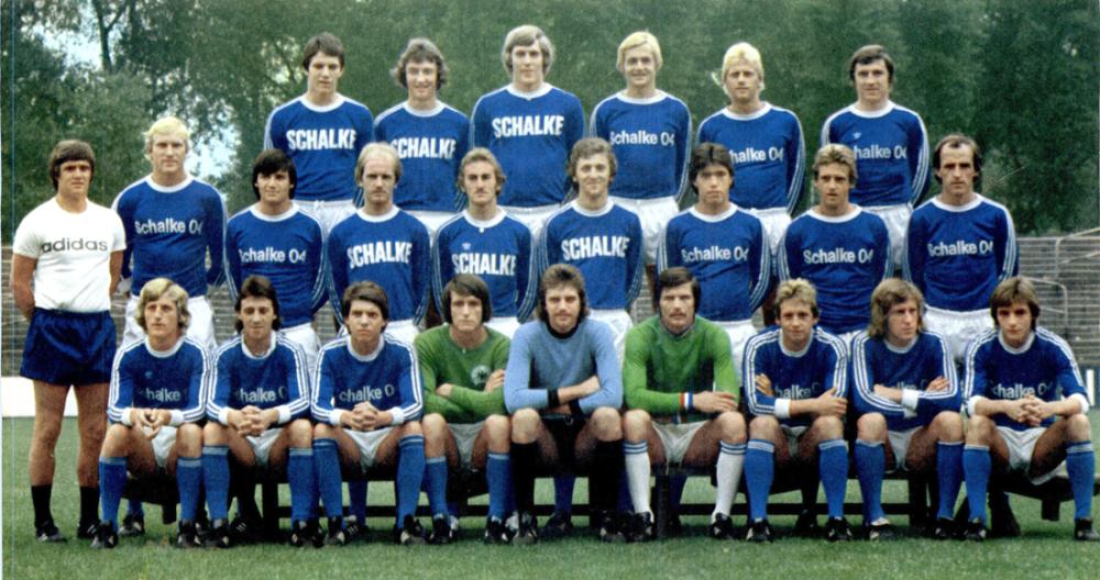 fc schalke 04   kader   bundesliga 1976/77 - kicker