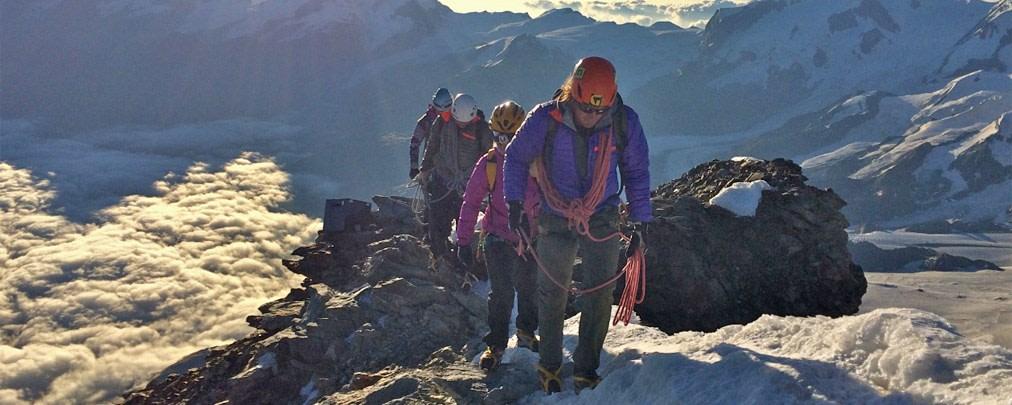Dahlmeier und Gössner auf dem Matterhorn