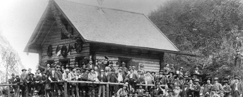 Alte Höllentalangerhütte wird auf der Praterinsel wieder aufgebaut