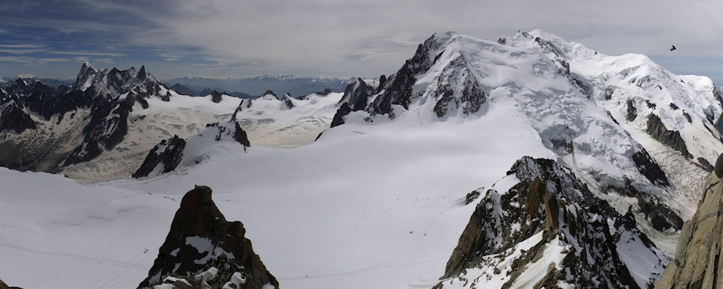 Auf den höchsten Berg der Alpen: Über den Normalweg auf den Mont Blanc