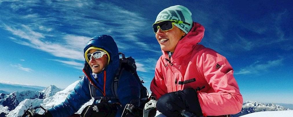 Laura Dahlmeier: Bergsteigen in den Anden