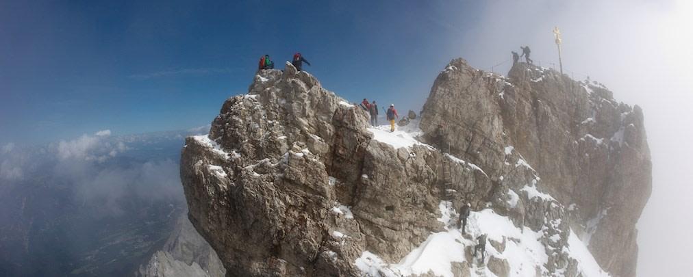 Parforceritt im Wetterstein: Die Zugspitze als Tagestour