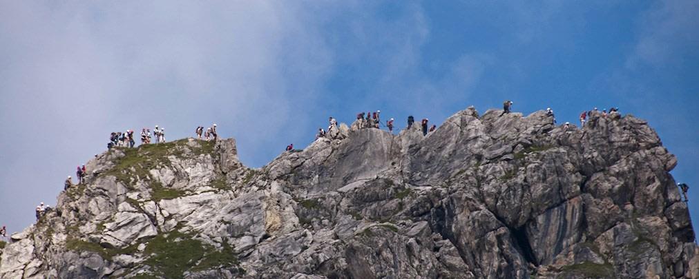 Tödlicher Unfall am Hindelanger Klettersteig