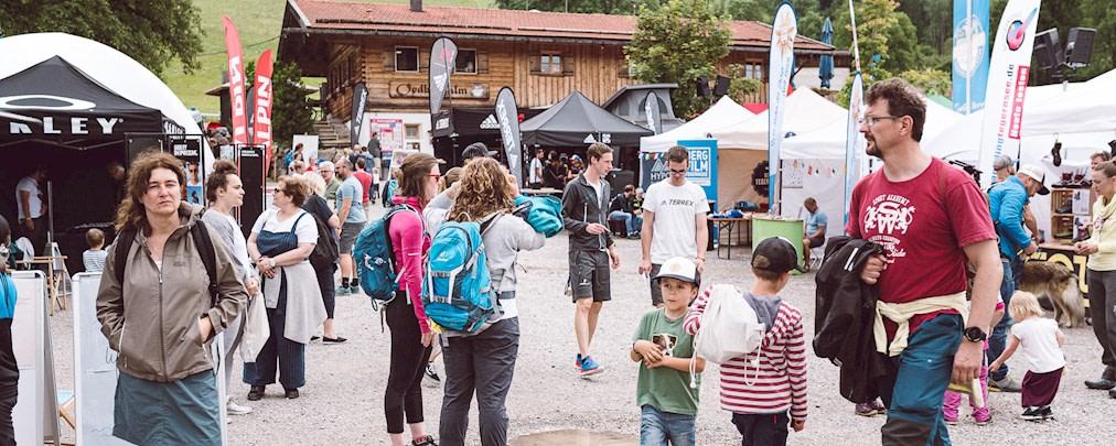 2.500 Besucher beim 1. Bergzeit Outdoor Testival Tegernsee