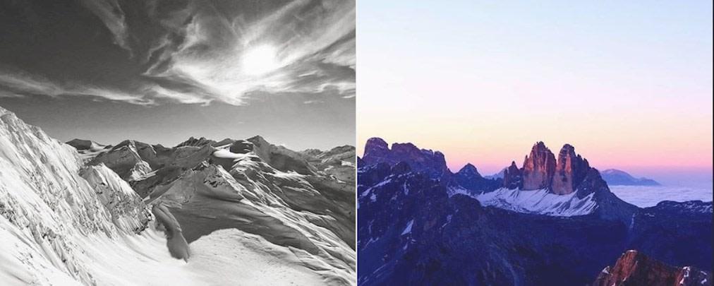 Instagram-Gewinnspiel: Bergbilder unserer Follower