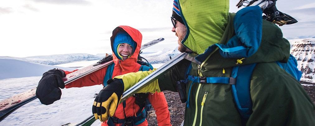 Skitourenausrüstung richtig lagern