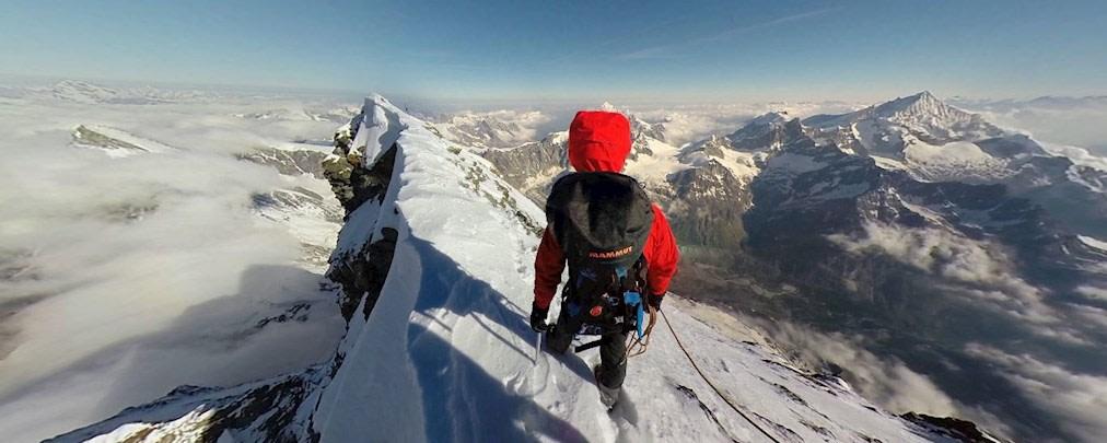 Virtueller Abstecher auf's Matterhorn