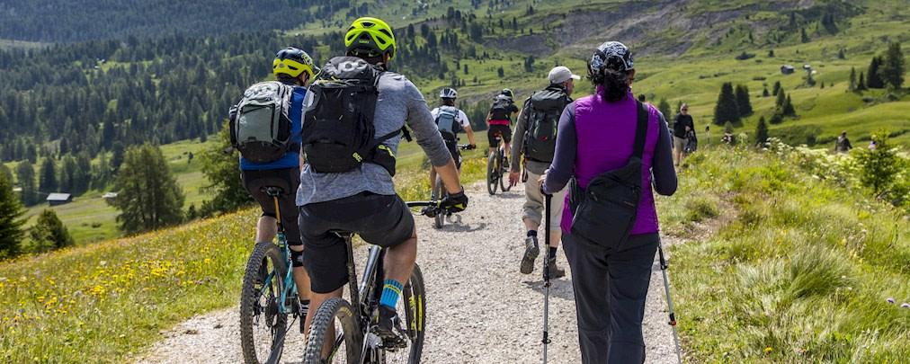 """Wanderer vs. Biker? """"Es geht nur miteinander"""""""