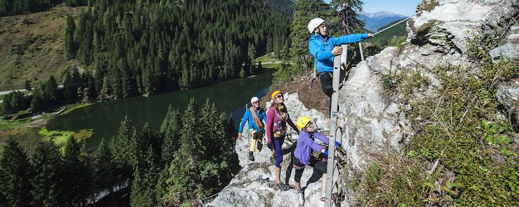 Welches Klettersteigset eignet sich für kleine Kinder?