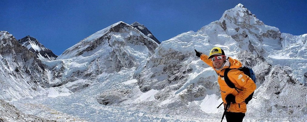 Kilian Jornet und David Göttler möchten gemeinsam den Everest besteigen.