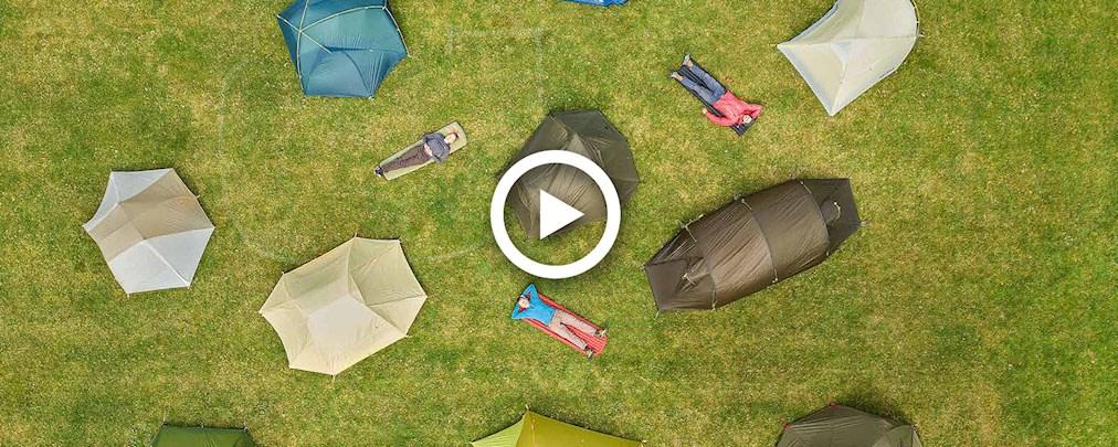 Drei-Personen-Zelte im Test