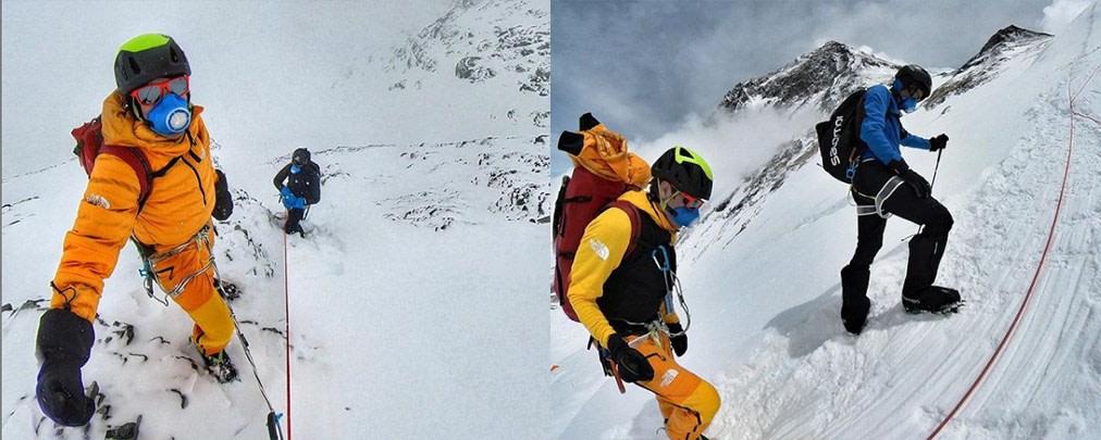 Jornet und Göttler drehen am Everest um