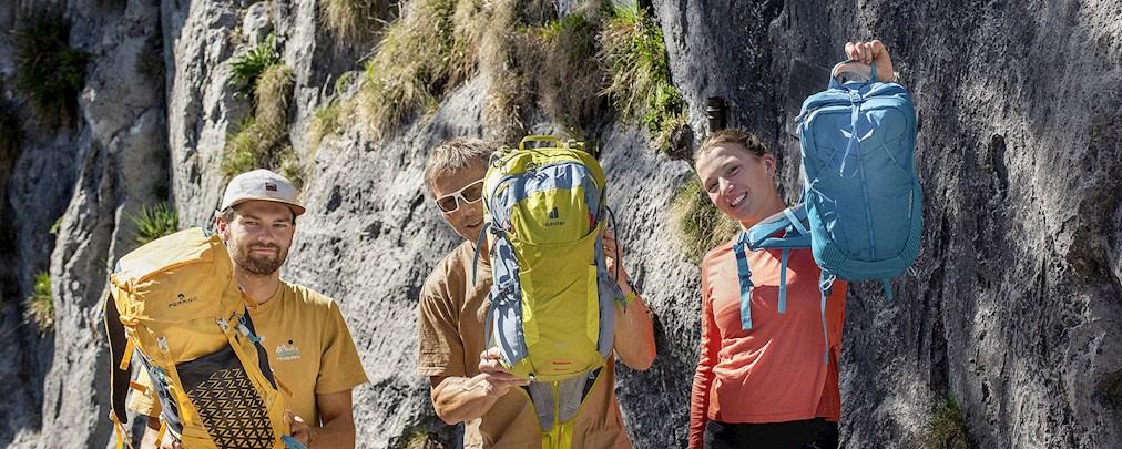 Im Test: Tagesrucksäcke für Wanderungen und Klettersteige