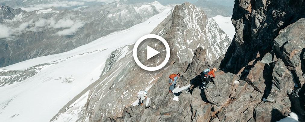 Die Großglockner-Besteigung von Caro North, David Göttler und Philipp Reiter live mitverfolgen.