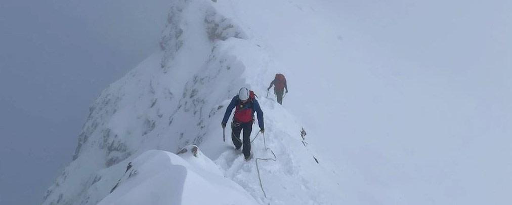 Zugspitze: Schwieriger Rettungseinsatz am verschneiten Jubiläumsgrat