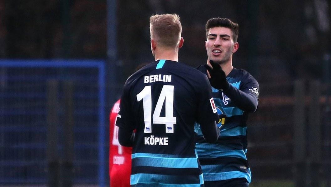 Hertha-Talent mit Traumtor bei Sieg gegen Bielefeld