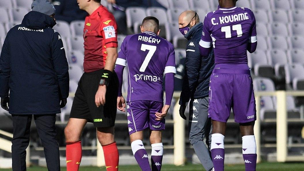 Verletzungspech bei Ribery - Florenz unterliegt Aufstieger Benevento