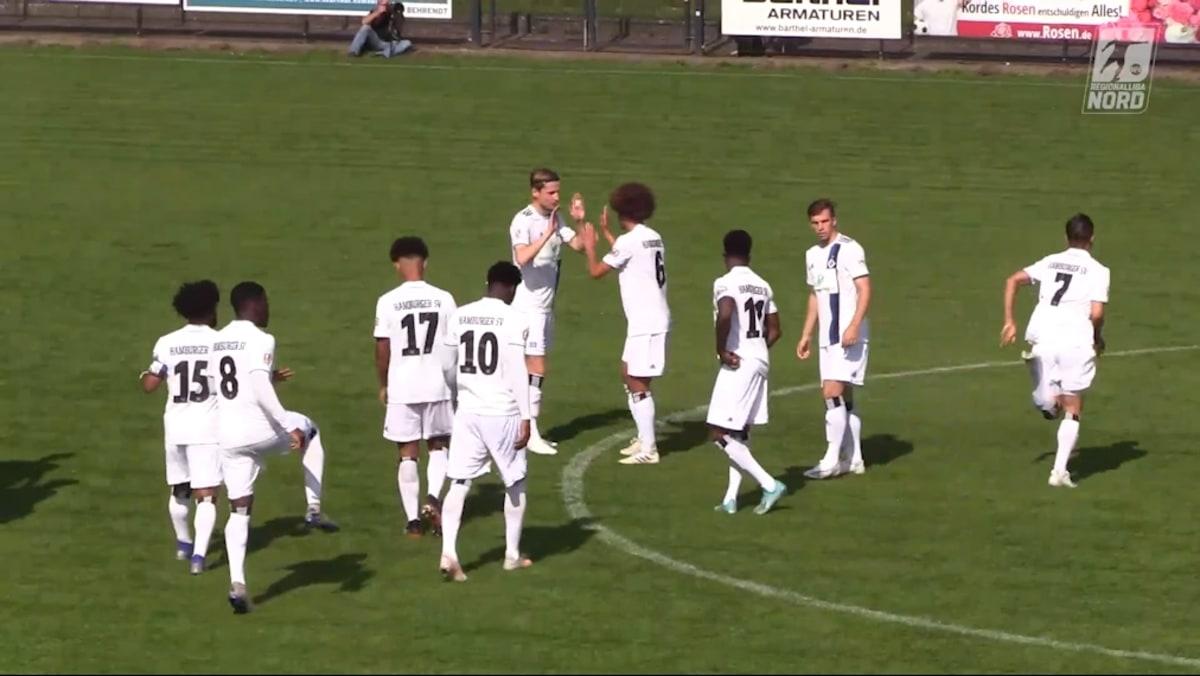 HSV II entscheidet umkämpftes Hamburger Regionalliga-Derby für sich   HSV II entscheidet umkämpftes Hamburger Regionalliga-Derby für sich   Video