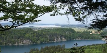 Aussichtsreiche Wanderung mit Schloss Neuschwanstein und Hohenschwangau