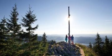 Kurz aber lohnenswert: Auf die Alpspitze bei Nesselwang
