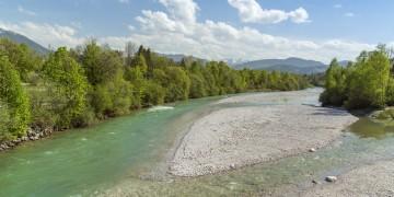 Gemütliche Wanderung: Von Lenggries an der Isar entlang nach Bad Tölz