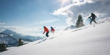 Von Grafenherberg auf den Vogelsang (Pistenskitour im Skiparadies Sudelfeld)