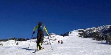 Skitour auf der aufgelassenen Piste zum Taubenstein