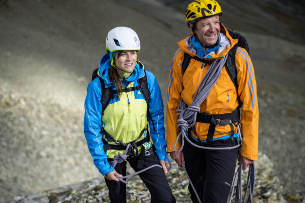 Sicher unterwegs zusammen mit einem ortskundigen Bergführer