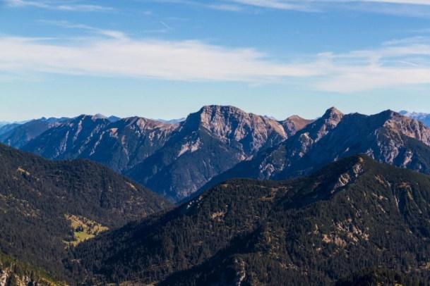 Bergtour - Kreuzspitze - Blick vom Säuling