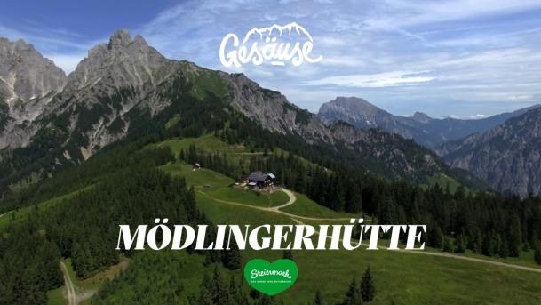 Hütten im Gesäuse   Mödlinger Hütte