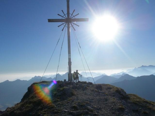 Gipfel Geißhorn