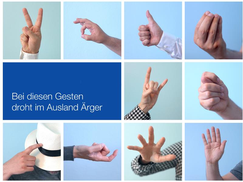 Hände gesten bedeutung Gestik