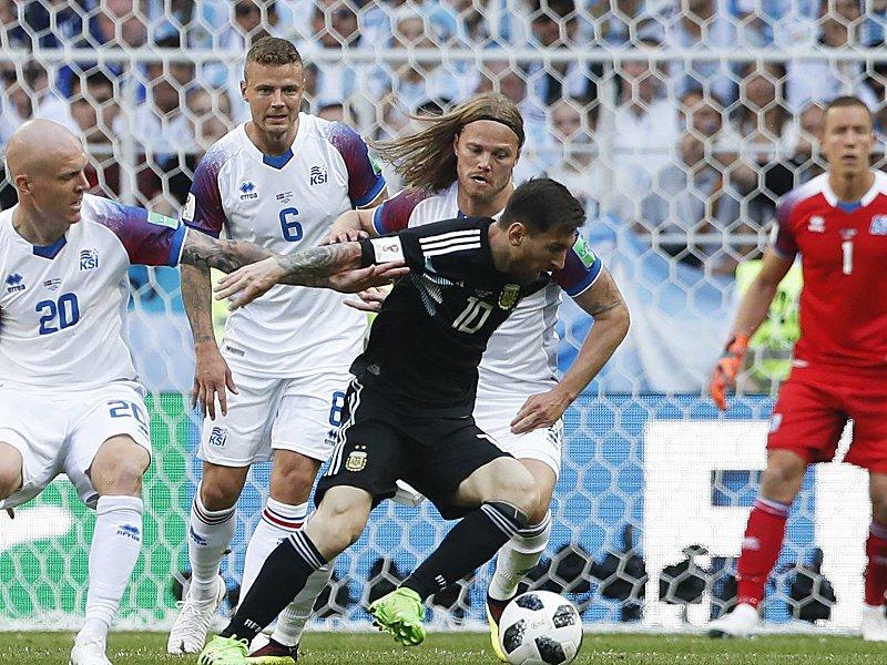 Argentinien Gegen Island