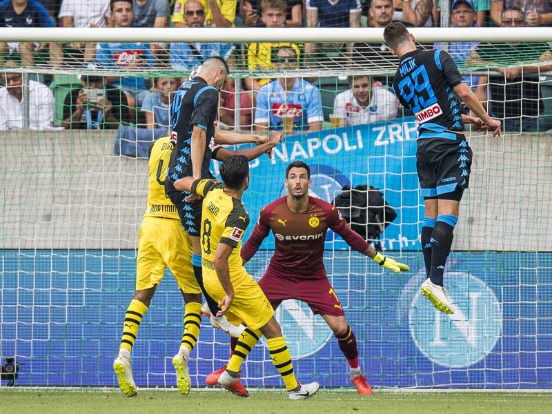 Patzer Gegen Neapel BVB Verpasst Den U0026quot Doppelsieg U0026quot Kicker