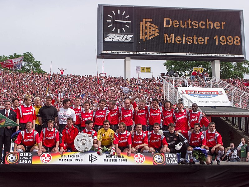 Kaiserslautern Deutscher Meister