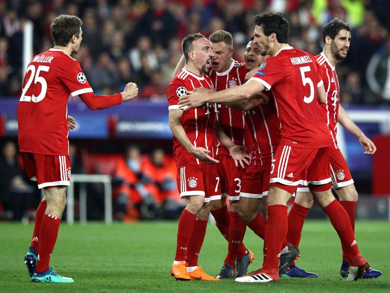 Bayern Sevilla Hinspiel