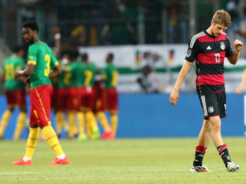 Deutschland Kamerun Aufstellung