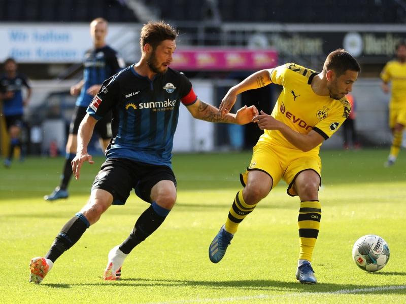 Sc Paderborn Gegen Dortmund