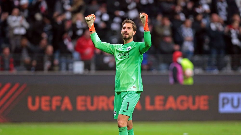"""Frankfurt's Trapp: """"Why shouldn't we talk about winning the group?"""""""