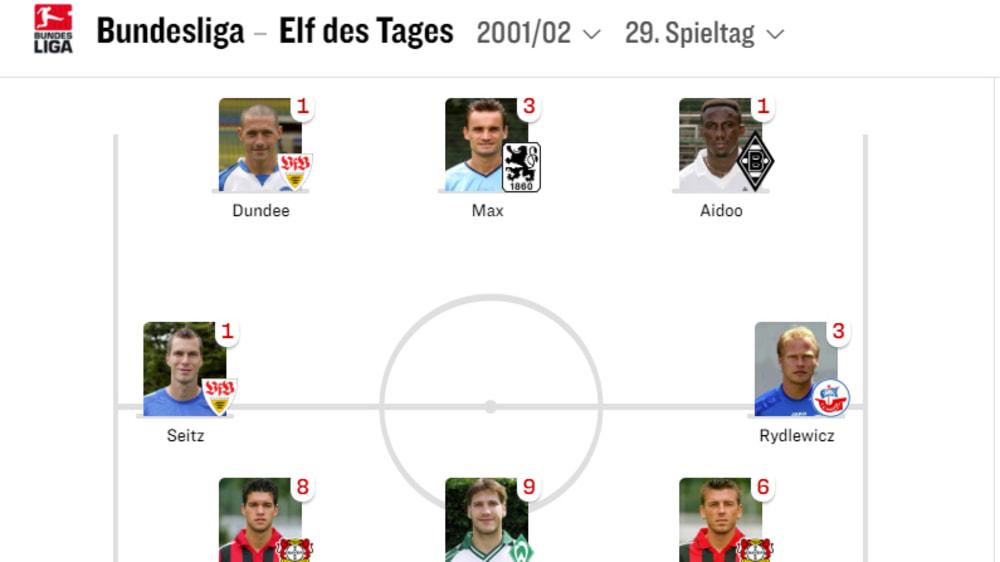 Werder Bremen Programm 2001//02 HSV Hamburger SV