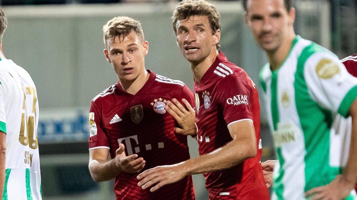 Souveräne Bayern jubeln dank Müller und Kimmich auch in Fürth