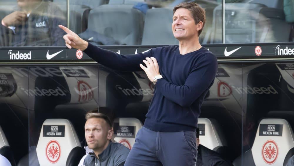 Eintracht Frankfurt: Glasner's dilemma with the formation