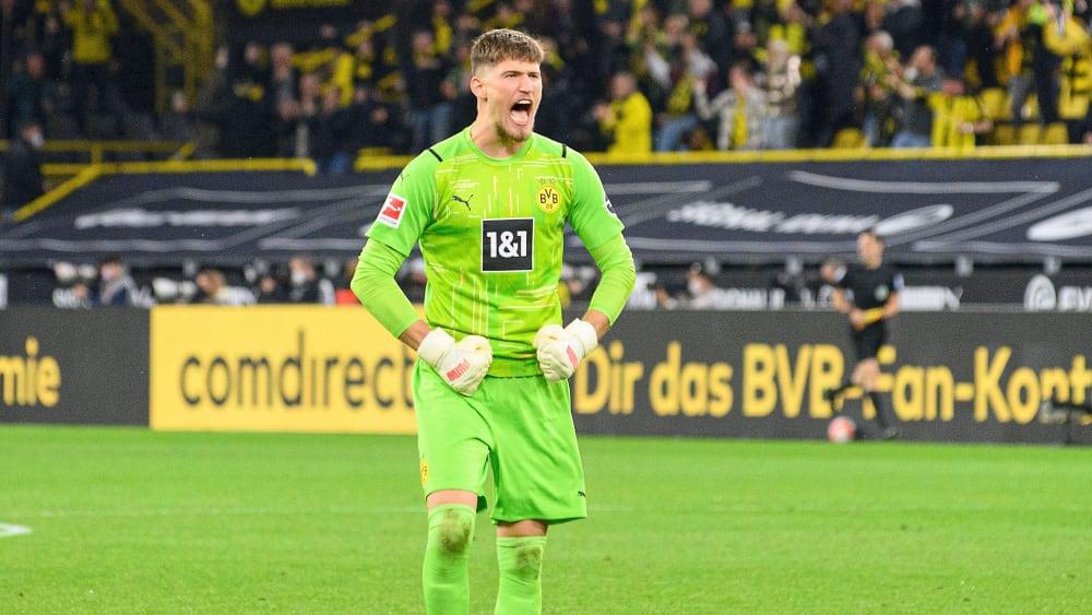 Gregor Kobel: Potent begin at BVB