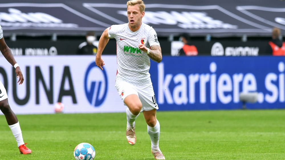 Maier's debut at FC Augsburg: encouragement with a bull's eye